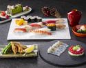 日本料理「さくら」 テーブル席で楽しむ寿司 クリスマスプレミアムコース
