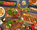 Lunch semi-buffet *90-minute limit (Weekdays) JPY3800