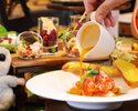 Dinner SemiーBuffet with your Choice of Main Course (Weekday 20% OFF Plan)