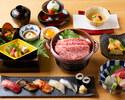寿司会席 2.5時間飲み放題付 プラン5,500円