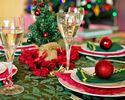 【12/19-25 限定!】シェフのこだわり クリスマス ランチコース※食後のコーヒーor紅茶付き