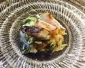 ランチタイム12:00スタート おまかせ  瀬戸内ナポリ料理のコース   ¥8500(税サ別)