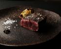Xmas限定コース~鳥取県産黒毛和牛の薪焼きとハンバーグ~