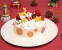 2021 糸島あまおういちごのクリスマスケーキ