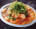 牛ホルモン鍋コース(飲み放題込み)¥4620円(税込み)