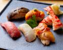 寿司と黒毛和牛会席 11,000円