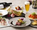 【新年会プラン 個別提供】オマール海老、牛肉とフォアグラ、ズワイ蟹など全7品【料理のみ】