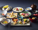 Lunch course 9,000 yen