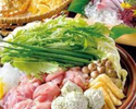 【数量限定】大山鶏とつくねのハリハリ鍋コース  4000円 (全8品)