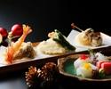 天ぷらクリスマスコース