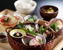 【ランチ】一汁七菜 かご盛り膳