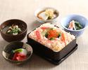 【ランチ・冬期限定】蟹ちらし膳