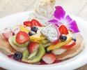 選べる!【パンケーキプラン】お好きなパンケーキが選べる♪サラダ、ポテトやスパムむすびも!食後のカフェ付き