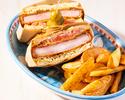 【オンライン予約限定で週末OK!】4種の選べるサンドウィッチ