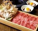 【お食事に】厳選黒毛和牛のオイル焼き×金目鯛の煮付けなど11品