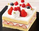 【レストランでのお祝いに】ストロベリーショートケーキ 10cm