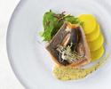 【ディナー】デギュスタシオンコース-オーラキングサーモン・吟醸豚肩ロースグリル他-