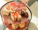Strawberry Afternoon tea アルコールフリーフロー付 2営業日前までの予約制