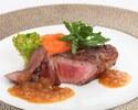 【Chef's Dinner】幅広い世代にお愉しみいただける料理に、和食の技法を取り入れた全7品フルコースディナー