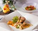 【カジュアルディナーに】SEASON Dinner☆季節野菜を使用した前菜や大人気のパイ包みスープが含まれた選べるコース!