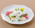 アオリイカと分葱のうす塩炒め