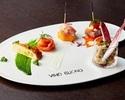 ●【お手軽ランチに】食後のカフェ付き!前菜・スープ・パスタ・デザートなど全4品の表参道ランチ