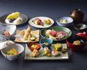 Lunch course 8000 yen