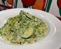 【テイクアウト】浅利とズッキーニの岩海苔クリームソース スパゲッティ もちもち生パスタ