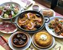 【飲み放題付き】忘新年会贅沢コース(2名様以上)旬の食材を贅沢に使用したパエリャなど、冬の味覚を楽しめる特別コース