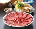 【新年2021】新年「牛しゃぶコース」+乾杯ドリンク付!(1/1~3)