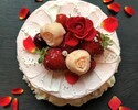 【4/20~5/31限定母の日ランチ】メインが選べるランチセット×バラ香る母の日特製デザート付