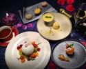 【乾杯スパークリング付き】『プレミアムデザートコース5品』 冬の甘いフルーツとデザートを心ゆくまで♪ <カフェおかわり自由♪>