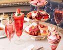 """【苺尽くしアフタヌーンティー】Afternoon Tea """"Strawberry""""+シャンパンor苺ドリンク"""