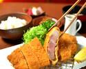 【ランチ■鹿児島特産「黒豚」とんかつ御膳】鹿児島特産「黒豚」の揚げたてとんかつを楽しめる御膳ランチ