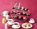 【2021年2/1~3/31】ルビーチョコレートと苺で彩る「Pink afternoon tea」