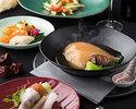 ◆フカヒレの姿煮込みがメイン!北京ダックも付いた中華王道の贅沢コースで優雅なひと時を☆