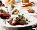 ◆ブラックコース 最高峰の豪華食材◆黒毛和牛フィレロッシーニ&牛タン元のステーキ・選べるシーフード・ロブスターグリル◆