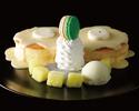 新東京マスクメロンパンケーキ