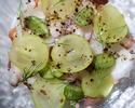 蛸とマスカットのカルパッチョ