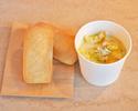 Cauliflower and Gorgonzola soup