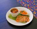Assam Vegetable Curry & Roti Paratha