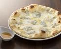 【テイクアウト】5種のチーズピッツァ フォルマッジ