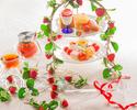 【苺/いちご/イチゴ】苺と瞬間スモークとパティシエが彩るアフタヌーンティー☆~パティシエ特製スイーツとこだわりのセイヴォリーと共に~