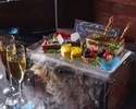 3500円 【記念日コース】♪1万匹の熱帯魚と祝うメッセージ付き玉手箱の記念日コース