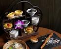 飾り棚デザート付飲茶ランチ【土日・祝日】11:30~、13:15~の2部制