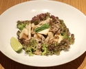 Warm Mushroom Salad with Yuzu Dressing