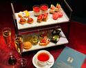 【苺とショコラのアフタヌーンティーセット】ガトー6種&セイボリー4種&紅茶飲み放題+1ドリンク
