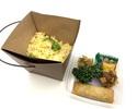 【香林テイクアウト&デリバリー】蟹とレタス炒飯(焼売、春巻き付)