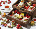 Strawberry and Green Tea Afternoon Tea with a Glass of Champagne (Mar 1-Apr 30)