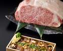 【テイクアウト】黒毛和牛サーロインステーキ重¥5,000 ※前日までの予約制・数量限定